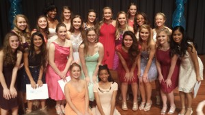 The Louisville Distinguished Young Women Class of 2017